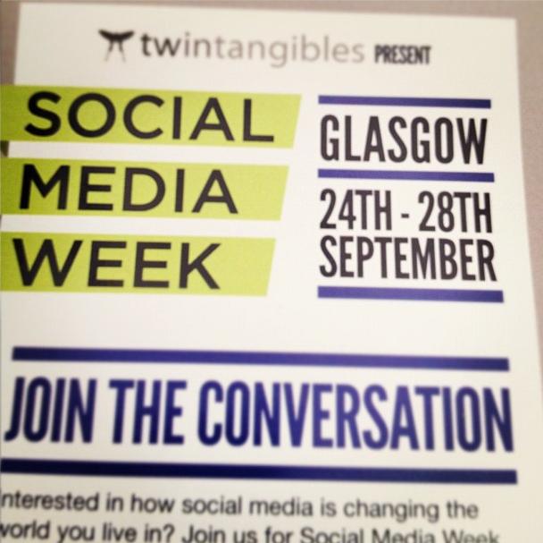 Social Media Week Glasgow 2012