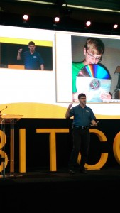 Gavin Andresen gives the 'Annual State of Bitcoin Address' at Bitcoin 2014 Amsterdam