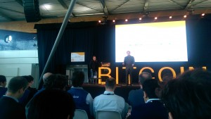 Patrick Byrne, Overstock CEO, keynotes Bitcoin 2014 in Amsteredam