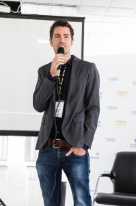 Wouter Vonk (BitPay) addresses the Scottish Bitcoin Conference, 23rd August 2014
