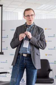 Matt Monach (Standard Life Investments) addresses the Scottish Bitcoin Conference, 23rd August 2014