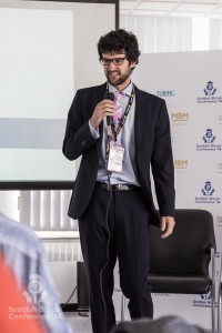 Max Steele (Coinometrics) addresses the Scottish Bitcoin Conference, 23rd August 2014