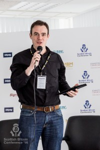 Dug Campbell addresses the Scottish Bitcoin Conference, 23rd August 2014