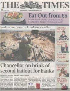 Headline embedded in Genesis Block