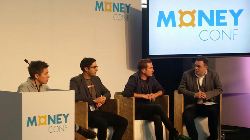 My MoneyConf Panel on 15th June 2015 with Damian Kimmelman (Duedil), Anil Stocker (MarketInvoice) & Hiroki Takeuchi (GoCardless)